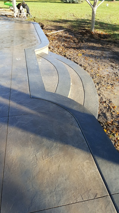 Stamped Concrete Patios, Concrete Driveways, Sidewalks, Steps, Seat Walls, Firepits, Ham Lake, Andover, Blaine, Coon Rapids, Lino Lakes, Forest Lake, East Bethel, Anoka, Maple Grove
