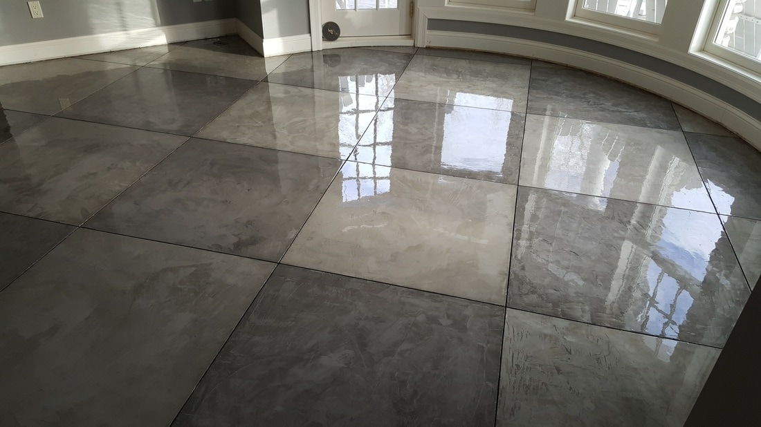 Minnesota Concrete Overlay, Floor, Microtopping, Stained Concrete Floor