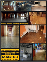 concrete floor, stained concrete, polished concrete, polishing, microtopping, overlay, epoxy, polyaspartic, urethane, architectural, minnesota, twin cities, ham lake