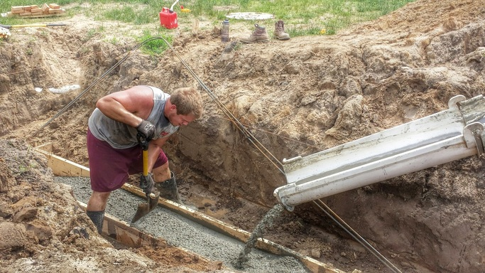Concrete, Footings, Foundation,