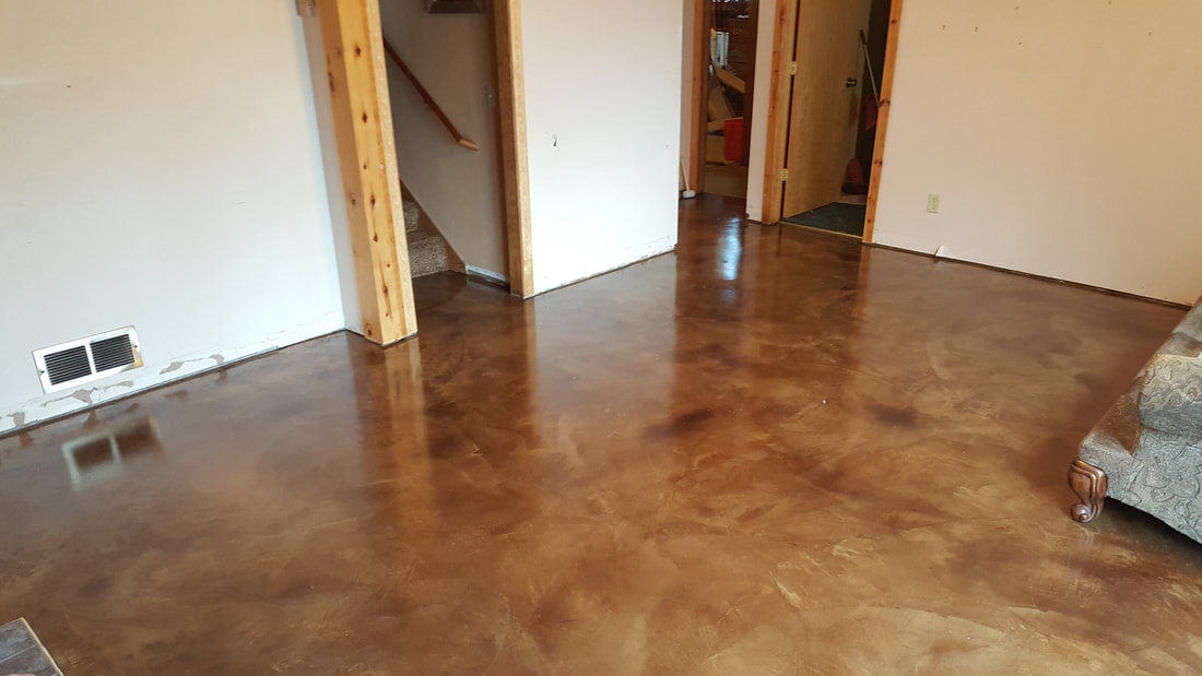 Stained concrete floors concrete overlays concrete for Master floors mn