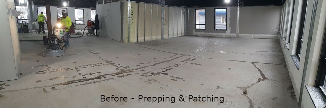 Concrete Polishing, Grinding & Sealing, Polished Concrete Floors